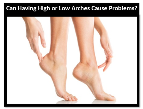 high or low Arches pain