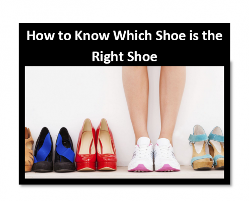 How to get the right shoe type and fitting