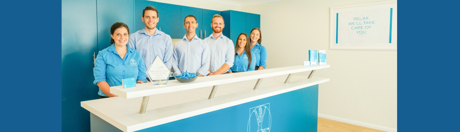 Podiatry and Physiotherapy team on the Gold Coast