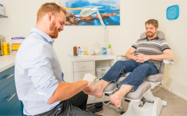 Podiatrist Treatment Modern Gold Coast Clinic